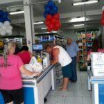 Foto Blitz Inauguração Mercado Círico entrada do mercado
